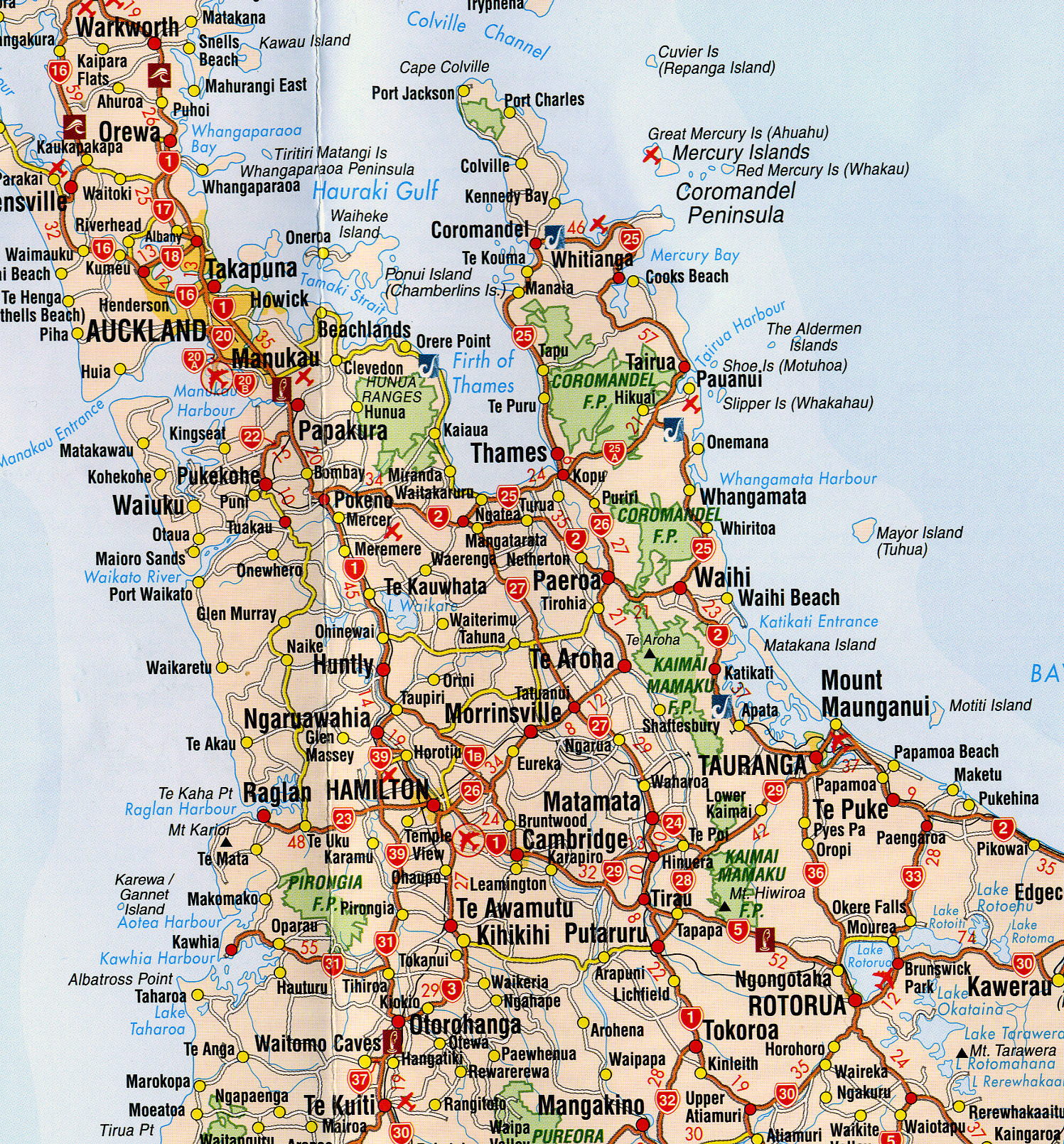 Map North Island Of New Zealand.Map Of North Island New Zealand Driving Twitterleesclub