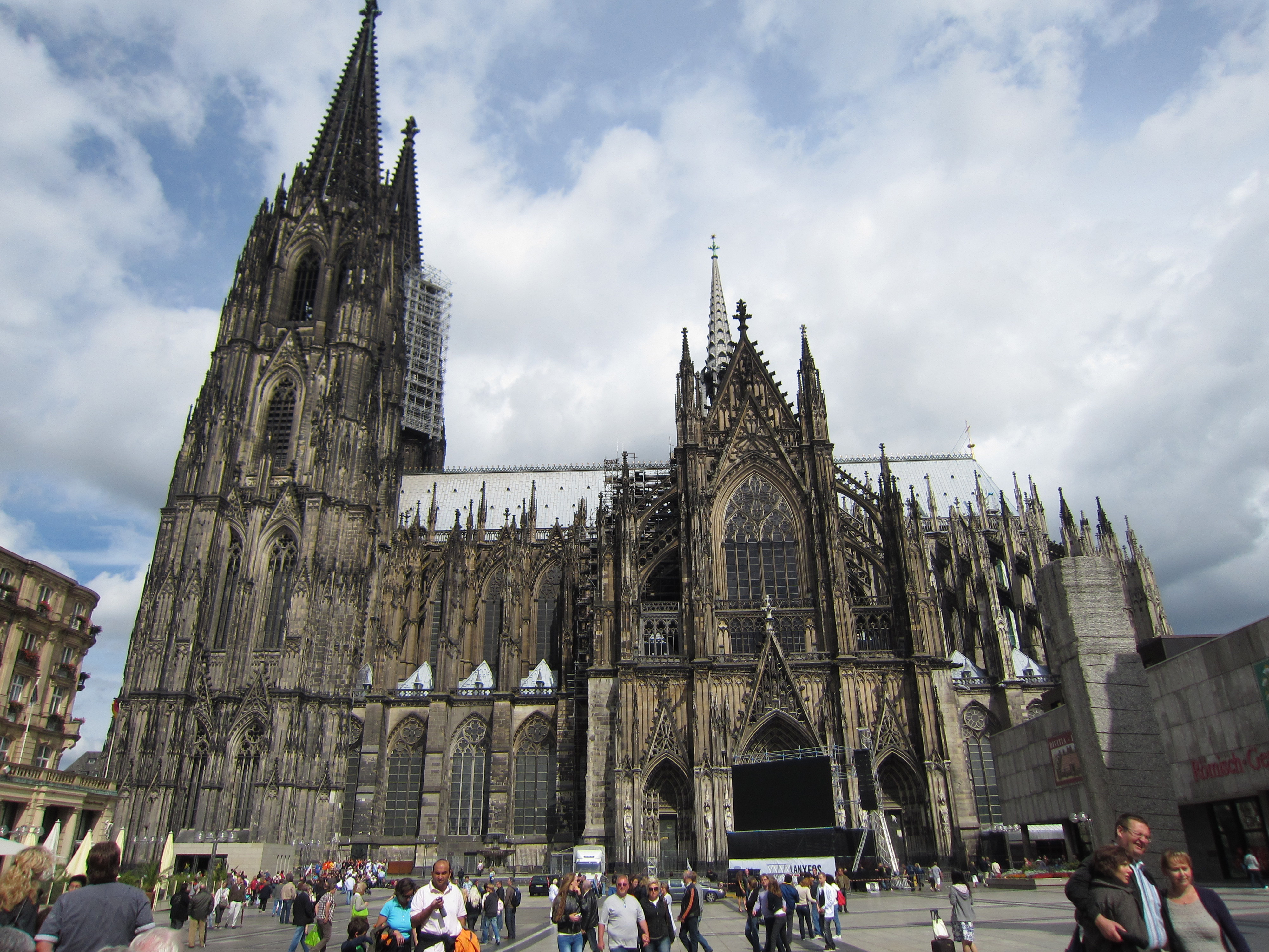 Cologne Cathedral Facade Cologne Cathedral South Side